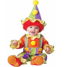 Disfraz Bebe Payaso Niño Traje Niña Payasito Halloween