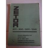 Manual Catálogo De Despiece: Tractor Zetor 8011, De 1981
