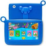 Tablet Kids Resistente Para Niños Con Wifi Bluetooth Estuche