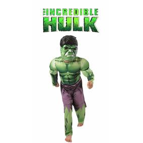 Disfraz Nuevo Super Heroe Increible Hulk Avenger Marvel Nene