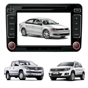 Central Multimídia Dvd Jetta Amarok Tiguan Original Vw