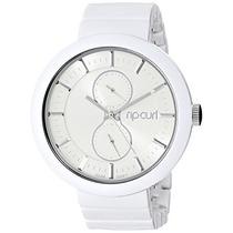 A2704g Whi Futurista Acetato Blanca Reloj Pulsera Rip Curl
