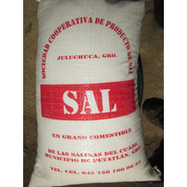 Sal De Mar En Grano Comestible, Costal De 10kg, 100% Natural