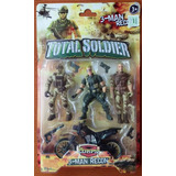 Total Soldier - The Corps - 3 Man Recon - Muñecos De Acción