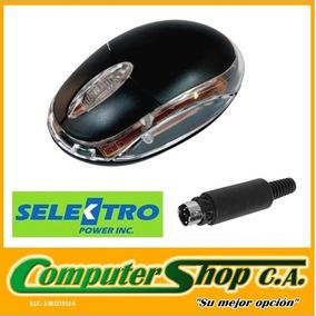 Mouse Optico Alambrico 3d / Selektro / Negro / Ps2 /skmo-538