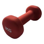 Mancuerna Neoprene Pesa De 1 Kg Gym Funcional Fitness Jbh