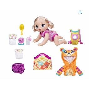 Baby Alive Hora Do Passeio + Kit Roupa Pronta Entrega