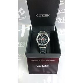 Reloj Citizen Caballero Acero Inoxidable Con Fechador