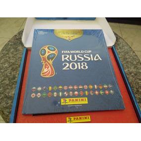 Album Copa 2018 Box Capa Dura + 500 Figurinhas Diferentes