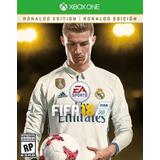 Fifa 18 2018 Ronaldo Edition Xbox One Xone Original Cdkey