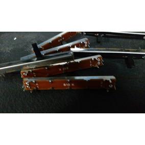 Potenciometro Deslizable Mono 10kb 7,5cm - 6,5 Recorrido