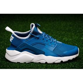 zapatillas nike huarache azul