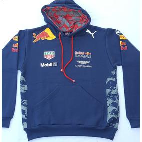 Blusa Moletom Red Bull Infiniti London - Marinho camuflado 7fd8d1bd9b0