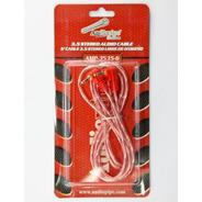Cable Audio 1.8mt Mini Plug 3.5mm 90° Oxigeno Audiopipe