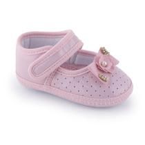 Sapato Infantil Feminino Rosa Verniz 001064 - Kéto
