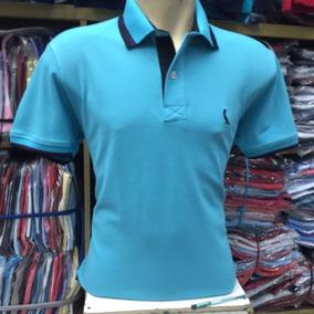 Camisa De Gola Polo Reserva Masculino Lisa Manga Curta