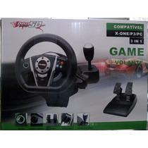 Volante Para Xbox One/ps3/pc Pro50 3 Em 1 X-one