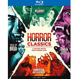 Blu-ray Horror Classics Volume 1 / Incluye 4 Hammer Films