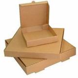 Cajas De Pizza Impresas Marrón Marrón Fabricación Propia