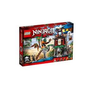 Lego Ninjago Tiger Widow Island 450pcs Original 70604