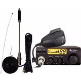 Radio Px Cobra 19 Dx Iv + Antena Px Cb-20 Voyager 40 Canais