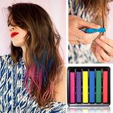 Giz Pastel - Hair Chalk - 6 Cores - Pronta Entrega