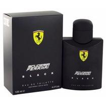 Perfume Masculino Ferrari Black 125ml Lacrado Frete Grátis