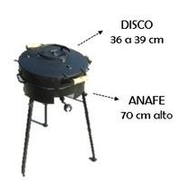 Disco De Arado Chico + Tapa Bifera + Anafe Alto