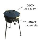 Disco De Arado Chico 35 Cm Diam + Tapa Bifera + Anafe Alto