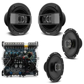 Kit Fácil Pioneer 270w Rms + Módulo Stetsom Vs 600 4 Canais