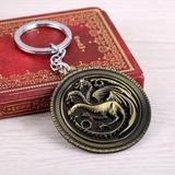 Games Of Thrones Casa Targaryen Llavero Collar Modelo B