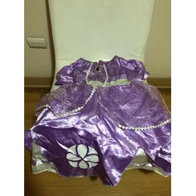 03b7c3621 Vestido Princesa Sofia Usado - Vestidos
