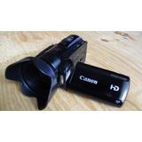 Filmadora Canon Hf M301 Full Hd Tactil Luz Entrada Zapata