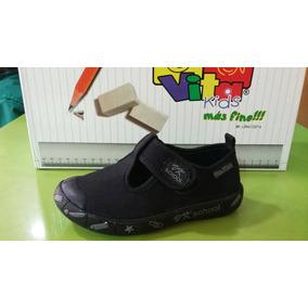 Zapatos Colegiales Escolares Para Niños Y Niñas Vita Kids