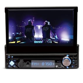 Dvd Player Automotivo Retrátil 7 Com Toque Na Tela Sd Usb
