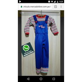 Disfraces Remate De Chucky Tallas 14