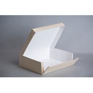Caja Xg 34,5x26x10cm (x 50u.) Desayunos Sandwiches Blanqueria  - Bauletto