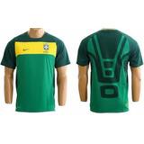 Camisa Nike Treino Seleção Brasileira Copa 2010 África Tam G