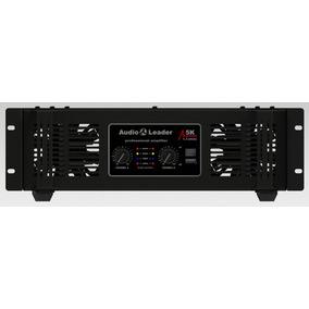 Potencia Amplificador Áudio Leader Al 5k 5000w Rms 1,3 Ohms