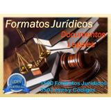 Documentos Legales Formatos Jurídicos Completos Y Leyes
