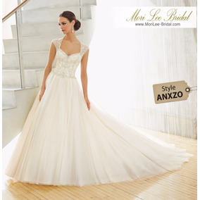 Vestido De Novia Mori Lee Bridal Boda Civil Anxzo