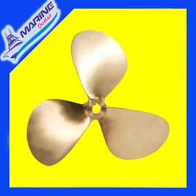 Helice Bronze Motor Mwm 3 E 4 Cil 3:1 Tam 23 X 25 D