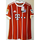 Camiseta Futbol De Bayer Munich James Rodriguez Adizero17-18