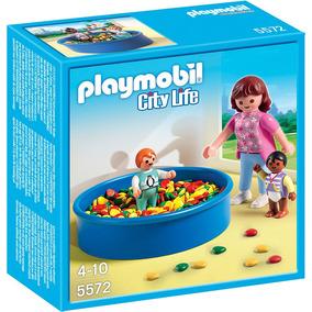 Piscina De Bolas Playmobil Juguete R5221