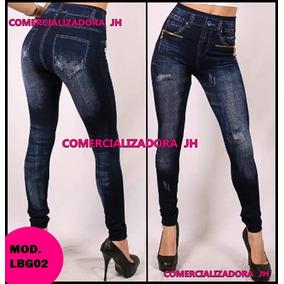 Leggins Jeans Pantalon Dama Tela Gruesa Importado Tienda