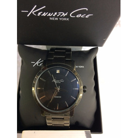 Reloj Kenneth Cole New York Acero Negro Diamond