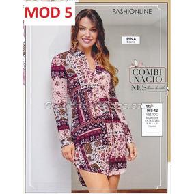 Vestido Multicolor Cklass 968-42. Outlet/saldos Mchn