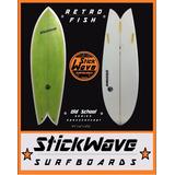 Tabla De Surf Retro Fish Stickwave