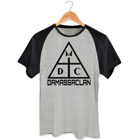 Camisa Camiseta Damassaclan Rap Freestyle Dmc Raglan