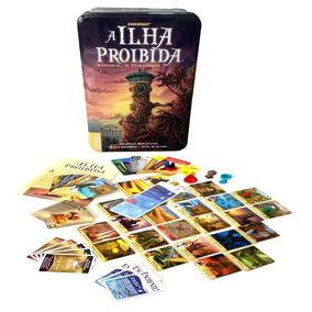 A Ilha Proibida Card Game Em Português Devir Novo Lacrado